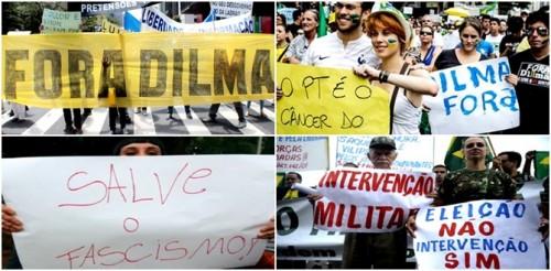 direita política brasil facismo