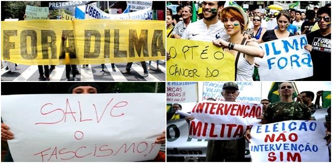 direita politica brasil facismo