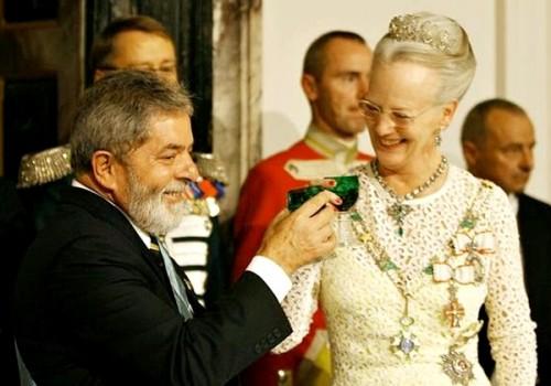 Lula Brasil rainha dinamarca