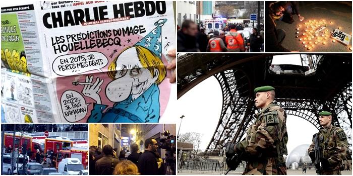 Charlie Hebdo iceberg frança europa