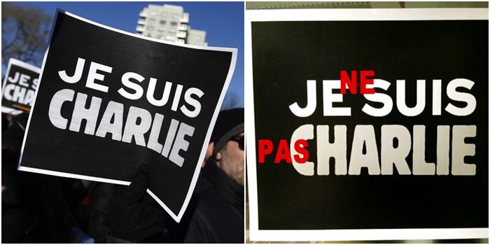 Je ne suis pas Charlie Hebdo frança europa respeito
