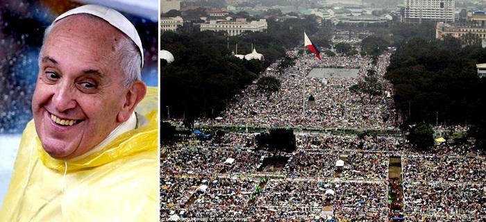 papa francisco machismo missa recorde manila