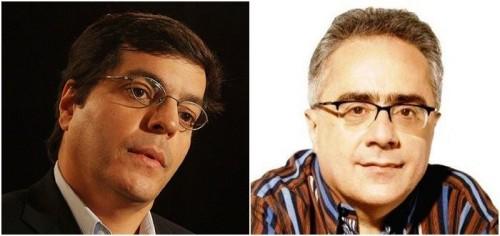 Ali Kamel [esq] e Luis Nassif (Pragmatismo Político)