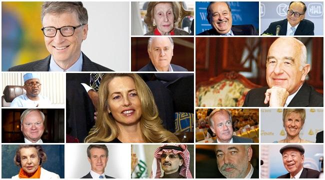 80 pessoas mais ricas planeta mundo