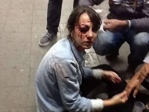 jornalista pm agressões