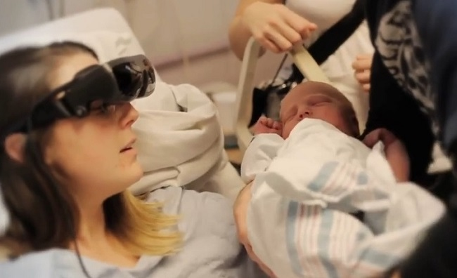 Kathy Beitz mãe cega filho
