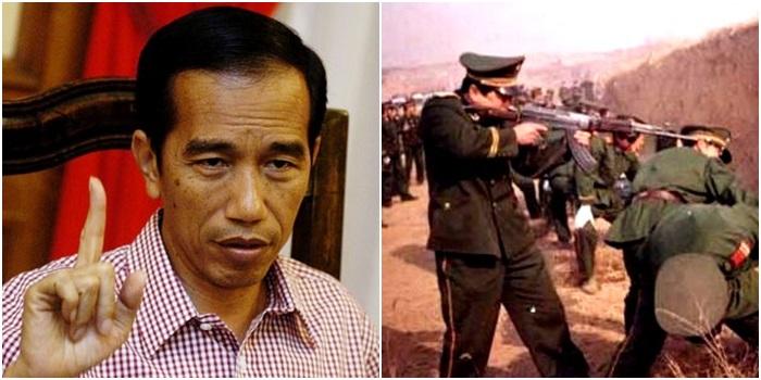 pena de morte Indonésia lei Antidrogas