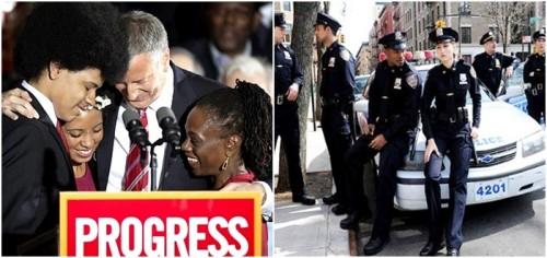 polícia Nova York prefeito eua racismo