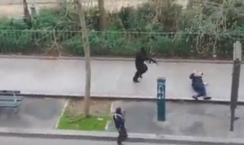 policial assassinado charlie hebdo