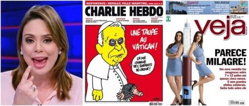 revista veja charlie hebdo rachel sheherazade