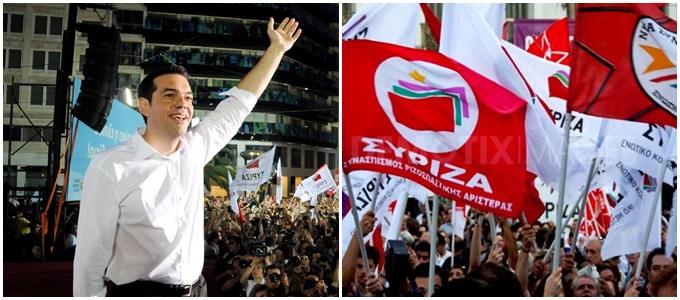 Syriza histórica vitória esquerda Grécia
