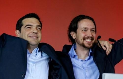 Alexis Tsipras pablo iglecias syriza podemos
