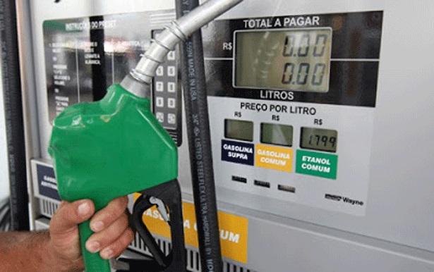 gasolina preço brasil