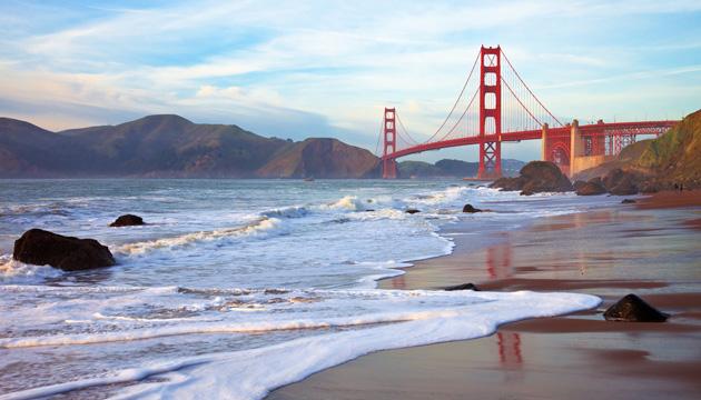 san francisco água ponte golden gate