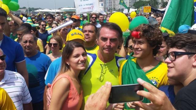 bolsonaro impeachment dilma manifestação