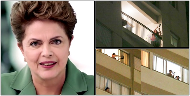 pronunciamento dilma presidente panelaço oposição manifestação