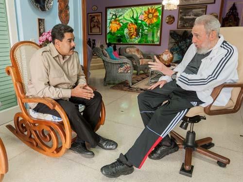 maduro fidel venezuela eua cuba