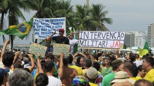 raiva intervenção militar dilma impeachment