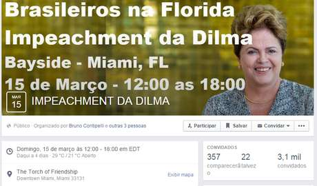 impeachment dilma miami