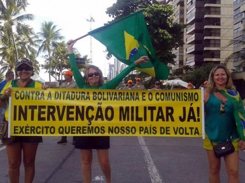 intervenção militar brasil