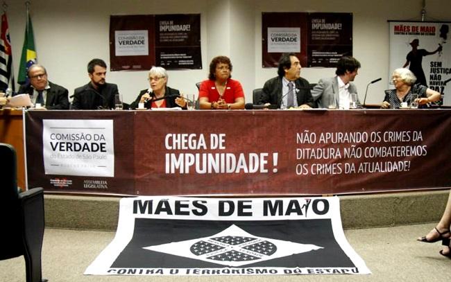movimento mães de maio justiça são paulo impunidade