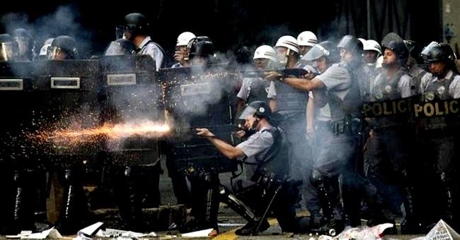 combate violência brasil historia polícia militar