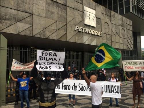 impeachment dilma protesto rio de janeiro