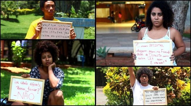 universitários negros racismo projeto preconceito unb