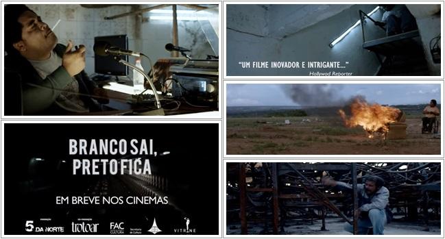 Filme Branco sai (Imagem: Pragmatismo Político)