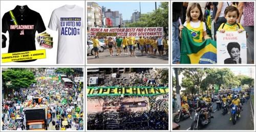 dinheiro manifestações 2015 impeachment direita dilma