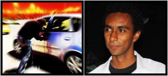 preso roubar próprio carro estudante pedro
