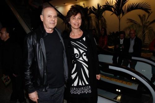 (Imagem: O ex-ministro Guido Mantega e sua esposa)