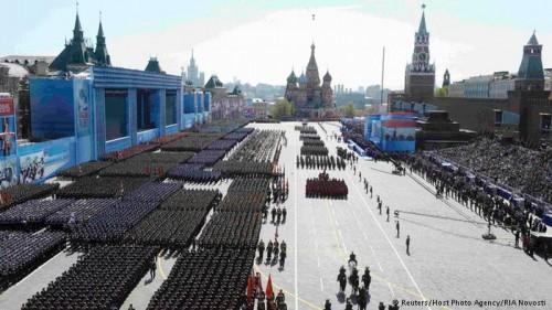 rússia desfile militar exército parada