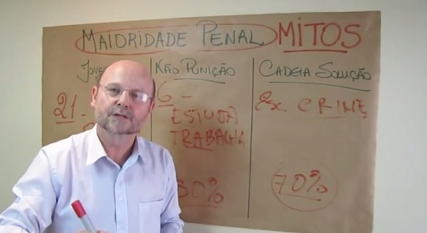 redução maioridade penal Elvino Bohn Gass
