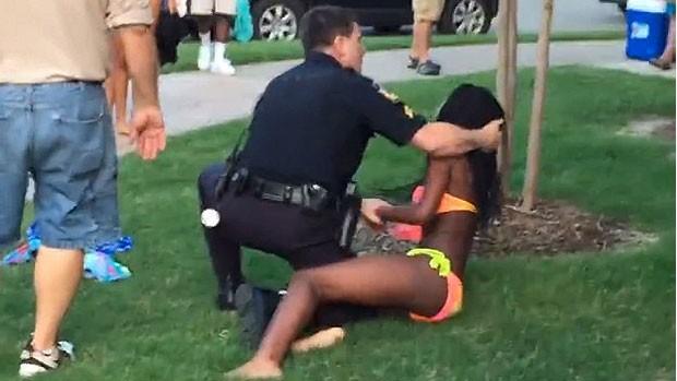 policial eua racismo texas