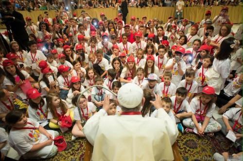 papa francisco filhos prisioneiros