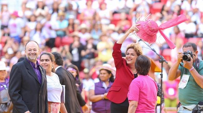 Dilma marcha das margaridas