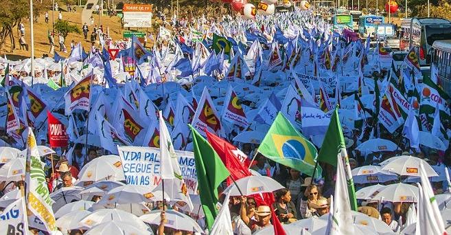 Marcha das Margaridas Eduardo Cunha