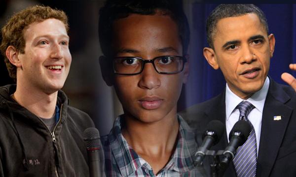Ahmed Mohamed jovem relógio eua