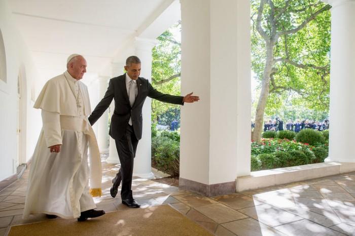papa Francisco casa branca