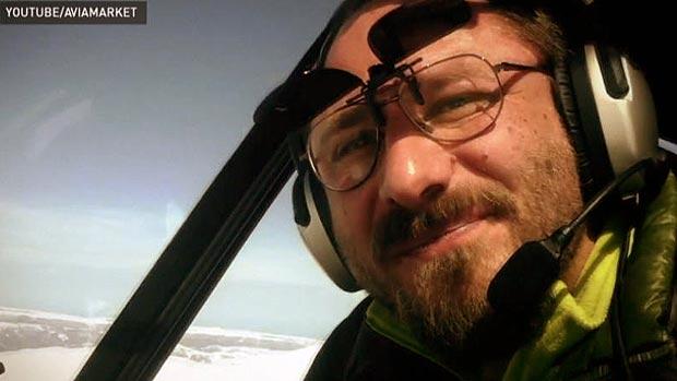 gelo Sergey Ananov aventureiro russo