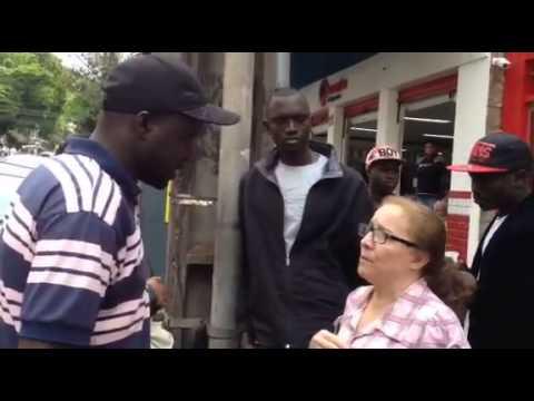 Senegalês racismo londrina paraná