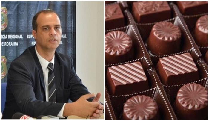 delegado faxineira chocolate