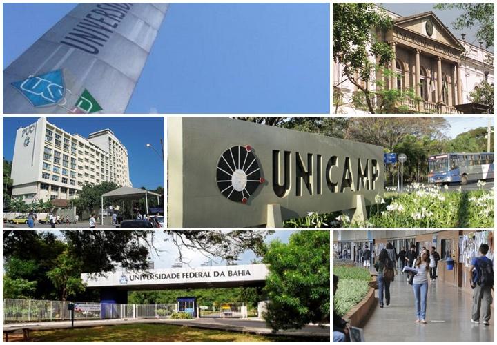 melhores universidades Brasil