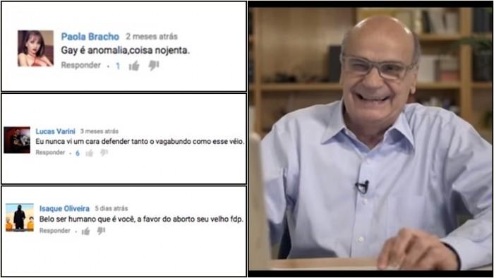 Drauzio Varella internautas comentários vídeo