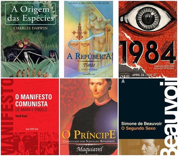 livros mais influentes mundo