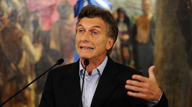 Maurício Macri Argentina novo presidente