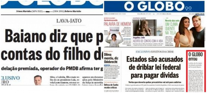 O Globo Lula mentira Lauro Jardim