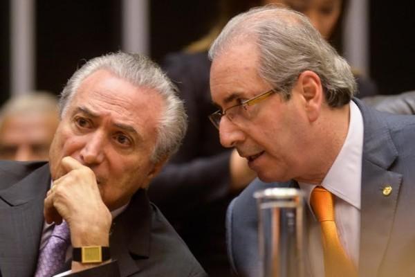 Eduardo Cunha Michel Temer