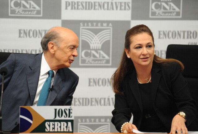 Kátia Abreu José Serra